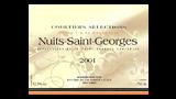 Nuits-Saint-Georges 2001 - ニュイ・サン・ジョルジュ