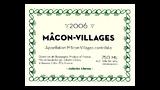 Mâcon-Villages Blanc 2006 - マコン・ヴィラージュ ブラン