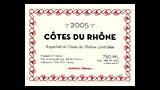 Côtes du Rhône Rouge  2008 - コート・デュ・ローヌ ルージュ