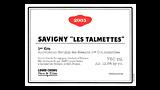 Savigny-lès-Beaune 1er Cru Les Talmettes Rouge - サヴィニー・レ・ボーヌ プルミエ・クリュ レ・タルメット ルージュ
