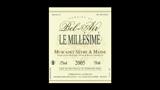 Muscadet Sèvre & Maine Le Millésimé 2005 - ミュスカデ セーヴル&メーヌ ル・ミレジメ 2005