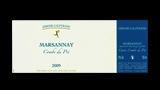 Marsannay La Combe du Pré Rouge  - マルサネ ラ・コンブ・デュ・プレ ルージュ