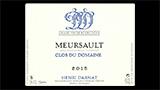 Meursault Clos du Domaine - ムルソー クロ・デュ・ドメーヌ