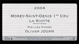 Morey-Saint-Denis 1er Cru La Riotte Vieilles Vignes - モレ・サン・ドニ プルミエ・クリュ ラ・リオット ヴィエイユ・ヴィーニュ