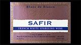 Safir Blanc de Blancs Brut - サフィール ブラン・ド・ブラン ブリュット