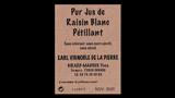 Pur Jus de Raisin Blanc Pétillant - ピュール・ジュ・ド・レザン ブラン ペティヤン