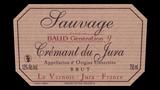 Crémant de Jura Brut Sauvage - クレマン・ド・ジュラ ブリュット・ソヴァージュ