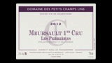 Meursault 1er Cru Les Perrières - ムルソー プルミエ・クリュ レ・ペリエール