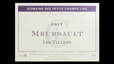 Meursault Les Tillets - ムルソー レ・ティレ