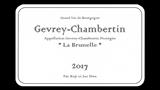 Gevrey-Chambertin La Brunelle 2018 - ジュヴレ・シャンベルタン ラ・ブリュネル